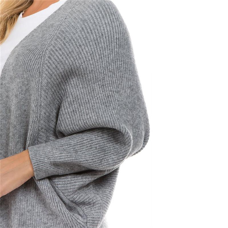 2018 バルク卸売格安冬ホワイトレディース女性ヘビーリブセーターのカシミヤカーディガン女性