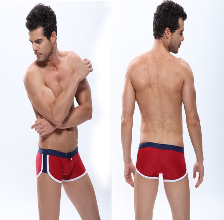 In stock!Manview Sexy Men Boxers Shorts Men's Swimming Underwears Man Underpants Trunk Cueca,10pcs/lot