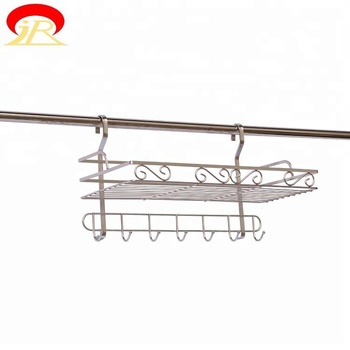 Free Combination Stainless Steel Wall Mounted Metal Spice Rack Buy