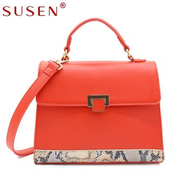 e6c4def1d3b5 SUSEN дамы змеиным узором сумки оптом дизайнерские купить сумки оптом