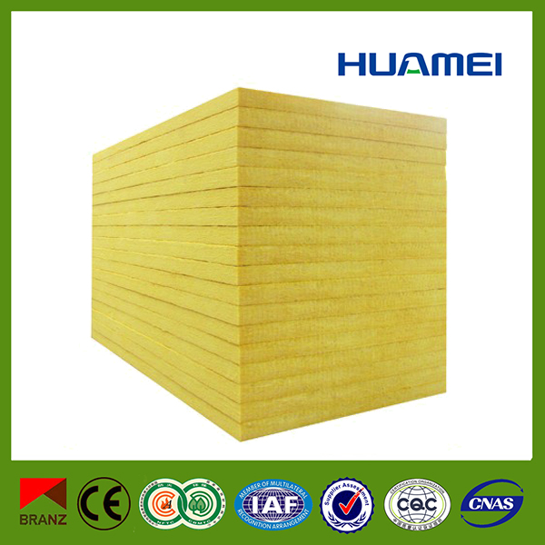 Huamei high temperature thermal insulation glass wool board