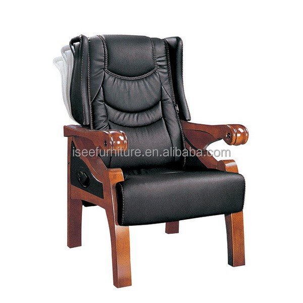 antique wooden recliner chair office furniture for sale Dubai IH213