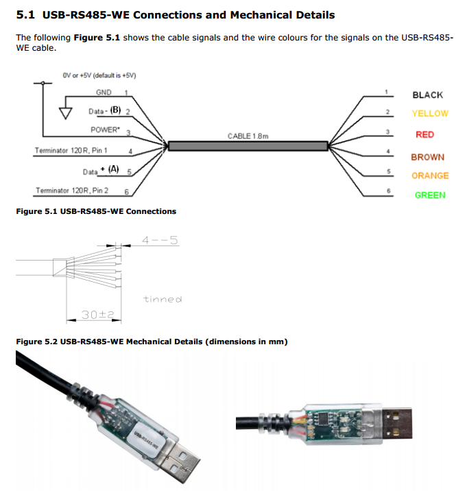 Ftdi Usb To Rs485 Converter Cable Wire Ended Buy Ftdi Usb To
