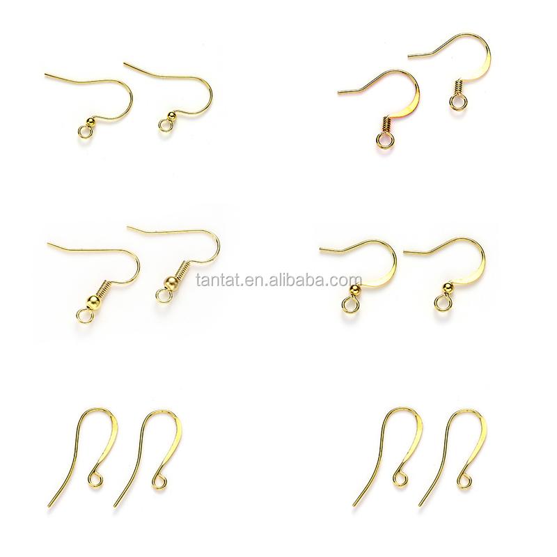 240pcs Iron Ear Wire Hook For Diy Earrings Hooks Finding