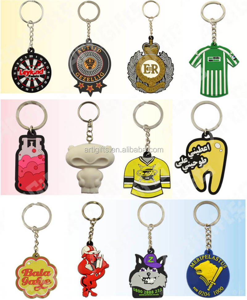 Wholesale pvc keychain,keyring manufacturer in china
