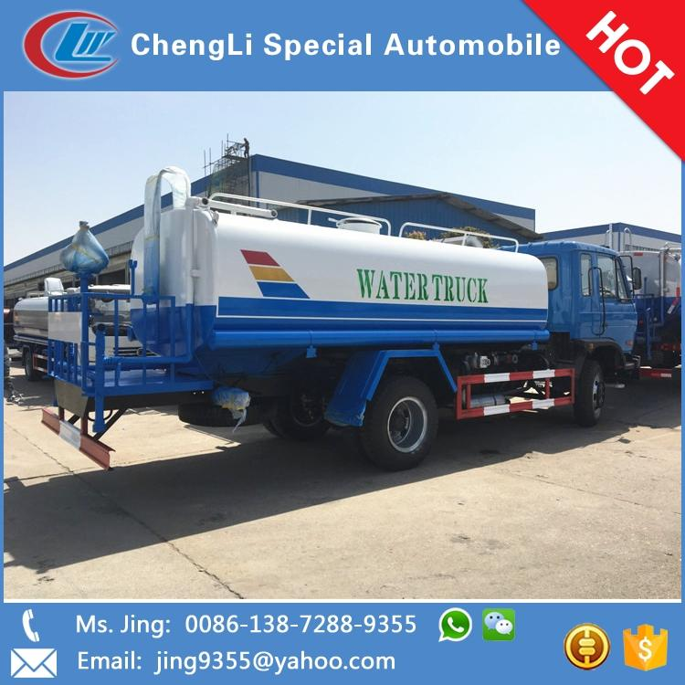 High performance dongfeng water truck water tanker truck for sale in  Kuwait, View dongfeng water truck, DONGFENG 145/153 Product Details from  Chengli