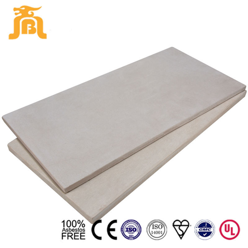 Waterproof Fireproof Reinforced Fiber Concrete Plank Flooring Prefabricated Board