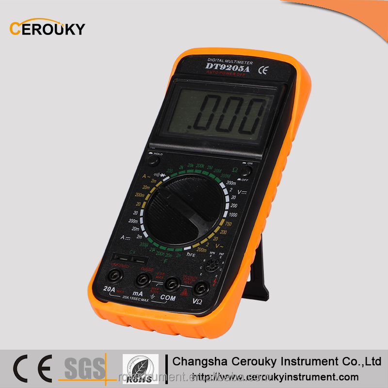 Professional portable automotive scope digital multimeter DT9025A m890c dt9208a manual