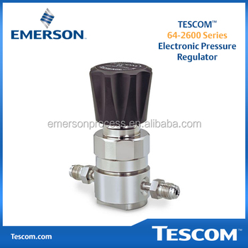 Tescom 64-2600 Series Electronic Pressure Regulator - Buy Pressure  Regulators,Emerson,Automation Solutions Product on Alibaba com