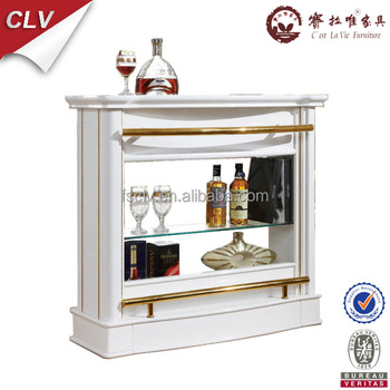 Classic european style wood home bar cabinet designs buy home bar cabinet designs modern wine - Classic bar counter design ...