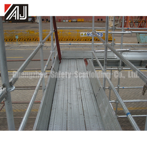 Best Price Construction Steel Ringlock Scaffolding Layer