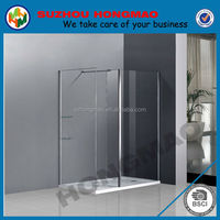 Modern types shower enclosure glass, 80x80 square shower cabin