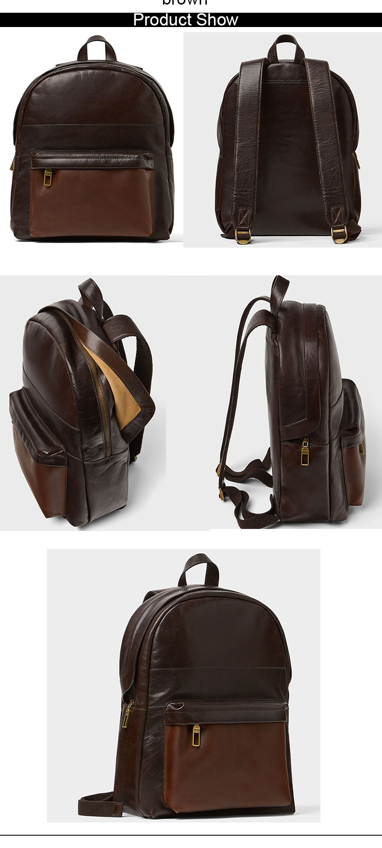 oem custom logo stylish men travel bags personalized logo waterproof backpacks