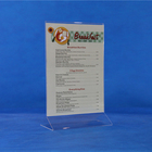 High Quality A4 Acrylic Menu Holder/Acrylic Sign Holder