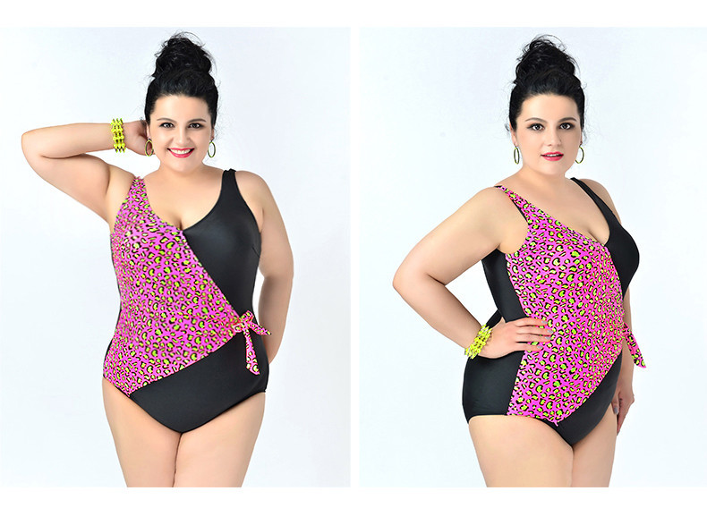 Plus Size Swimwear Leopard Print Sexy Xxxxl Women Plus Size ...