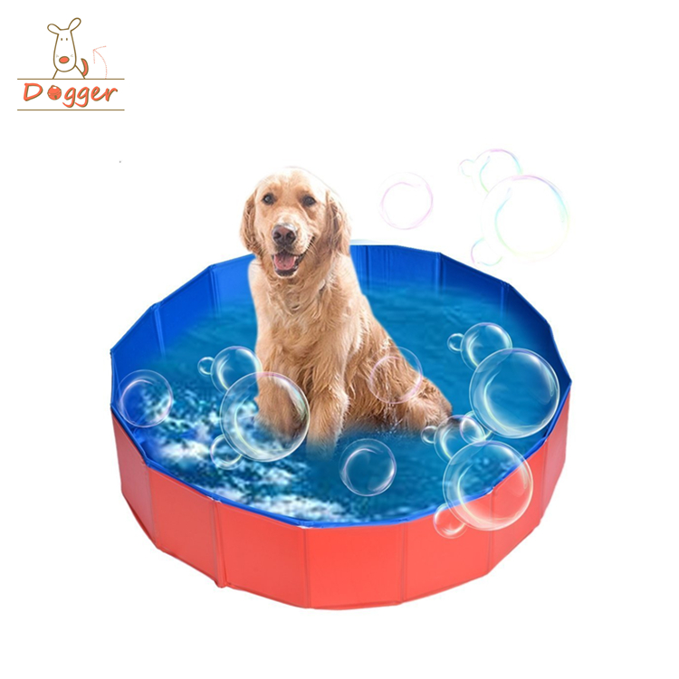 PVC safety portable big inflatable pet paddling pool