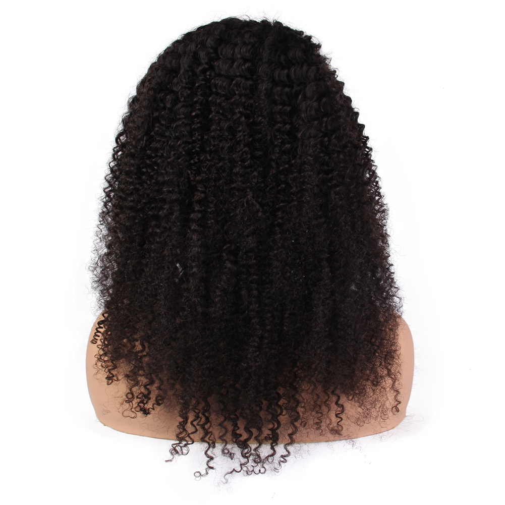 Factory Price Virgin Human Hair 360 Lace Frontal Wigs Youtube Sex Afro Eurasian Kinky Curly Hair Human Full Lace Front Wig