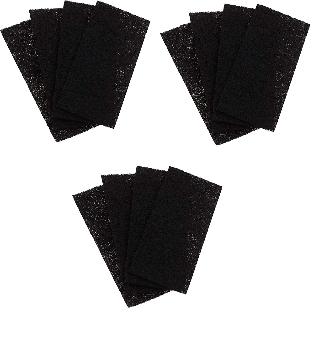 Replacement Holmes Carbon Filters HAPF60, CP-6011 Filter C, 4 Pack (12)