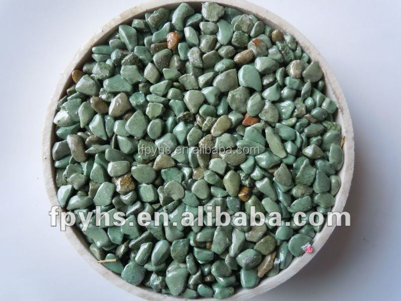 blue marble mosaic cobble stone