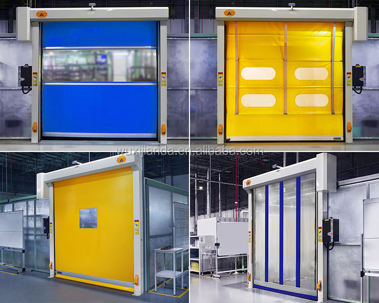 Automatic Plastic Electric Sliding Doors For Industrial