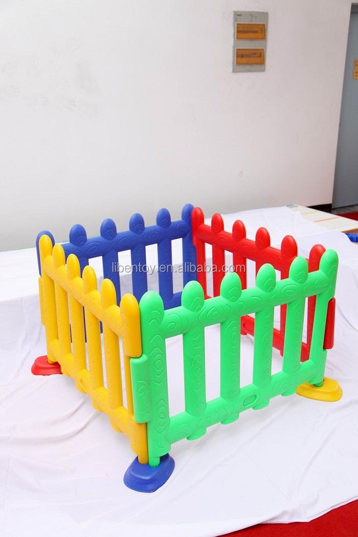 Extérieur En Plastique Enfants Clôture Jardin Enfants, Clôture EN PVC Pas Cher