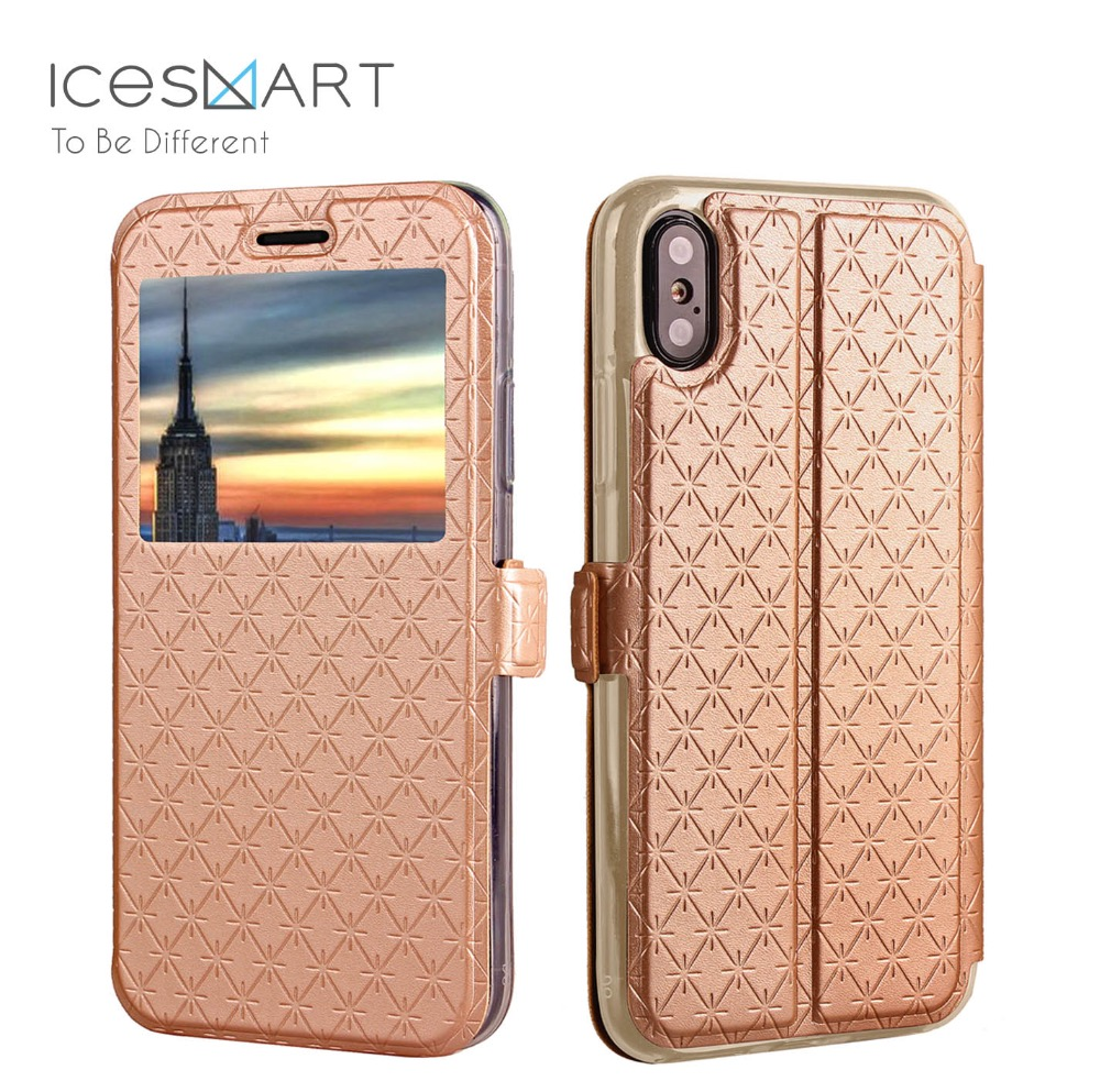 2017 Newest bussiness style Mobile Phone Accessories Flip Leather Case For iphone X,For Iphone X Case cover