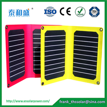 high quality and cheap 10.6W Portable Solar panel Charger for iphone ,MP4 ,other digital devices