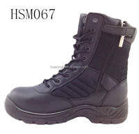 special force anti-terrorism tactical equipment 8 inch side zip military boots