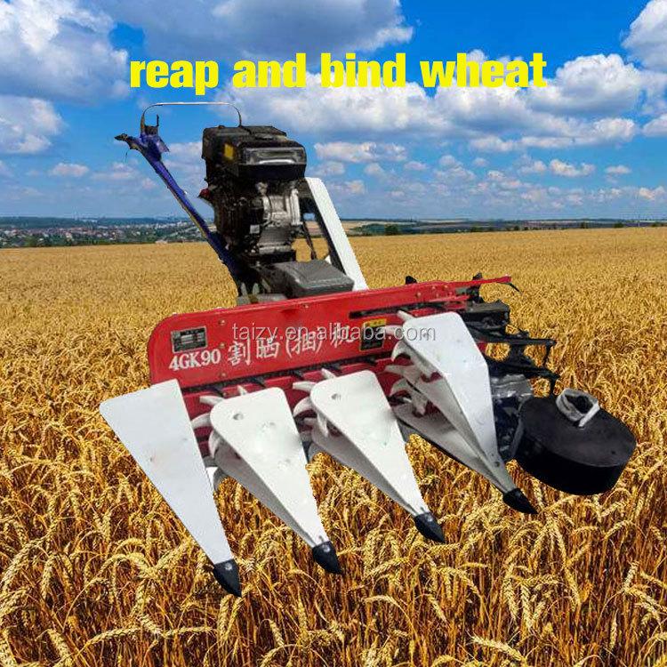 Wheat Reaper Binder Mini Reaper Binder-mini Rice Combine