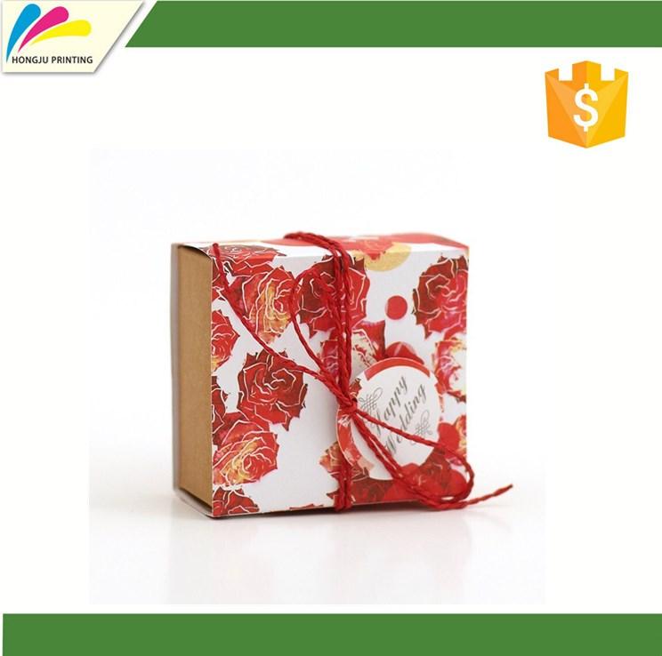Custom Printed Reusable High Quality Gift Card Box For
