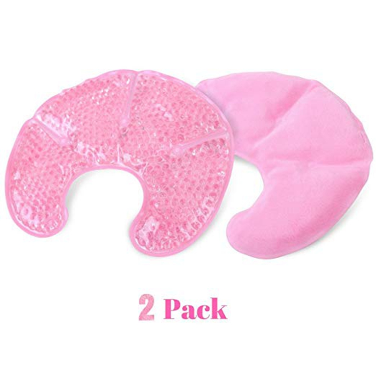 Factory Custom Gratis Verpleging Pad Covers Verpleging Moeders Hot & Koud Borstvoeding Beha Borstvoeding Ice Pack Gel Pads