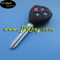 FCC ID:HYQ12BDC key fob universal for 314.4 mhz/G chip for toyota remote key smart key for toyota