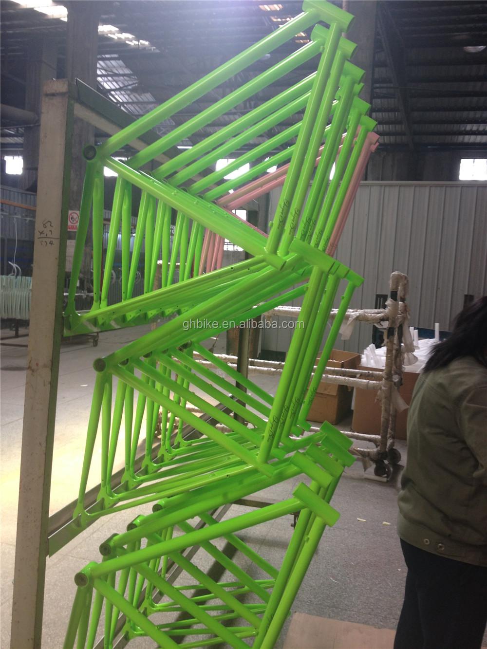 Oem Bunte Fixie Fahrrad Fixie Rahmen Festrad Frameset - Buy Product ...