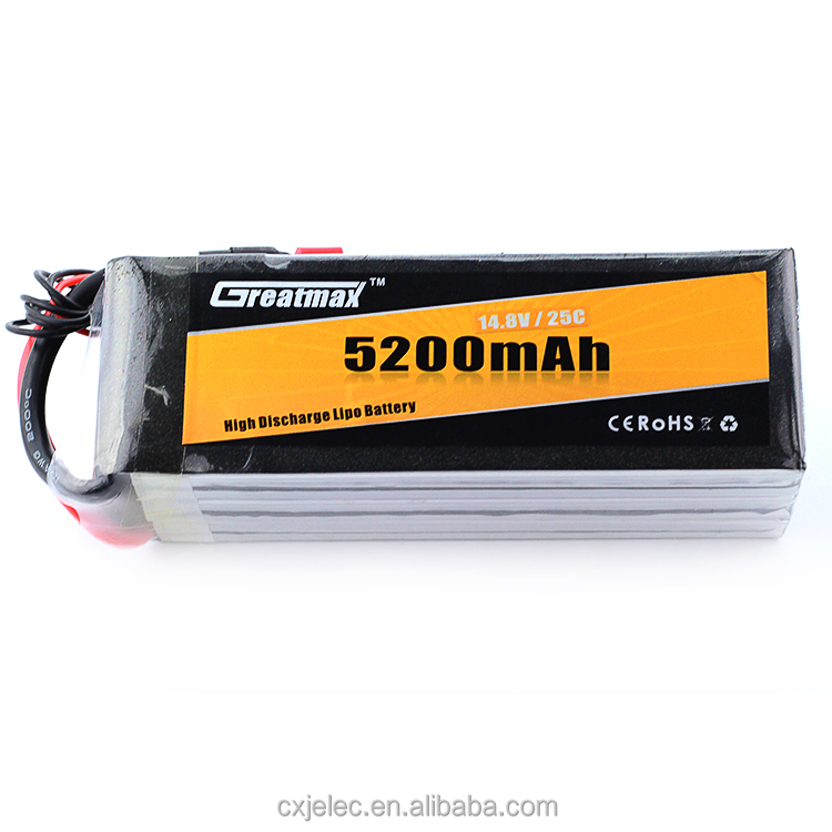 35C 3S1P 11.1V 5200mAh RC Hobby Rechargeable LiPo Battery Pack