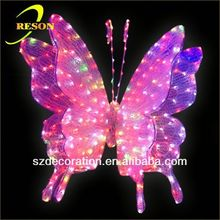 RS-Animal23 3D butterfly christmas foil hanging decoration