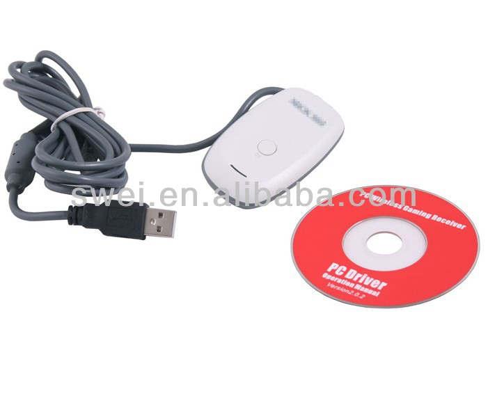 PC USB GAMING RECEIVER ADAPTER for XBOX 360