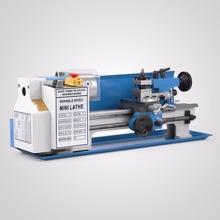 Mini high-Precision DIY Metal Lathe Tool Machine Variable Speed Milling Digital Display