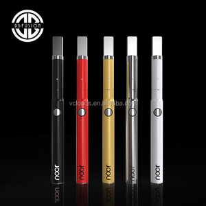 Long working life herbal cigarette 1.2ohm vape pen kit with fast charging