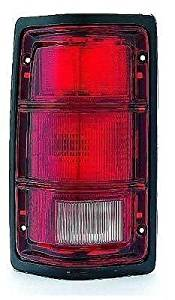 81-93 Dodge Ram Truck 1500 2500 3500 DRIVER Taillight with black trim NEW 81-93 Dodge Ramcharger