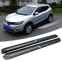 Factory direct sale modified parts aluminum alloy running board used for 2017 2018 nissan qashqai j11