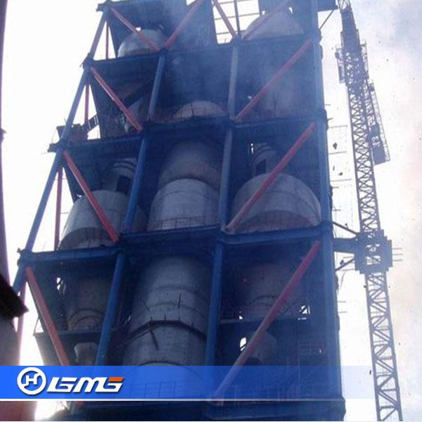 Cement Plant Preheater Cyclone Images : Cinq étages cyclone cimenterie préchauffage pour tpd