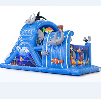custom inflatable obstacle, adult inflatable obstacle course,sea world inflatable game for kids