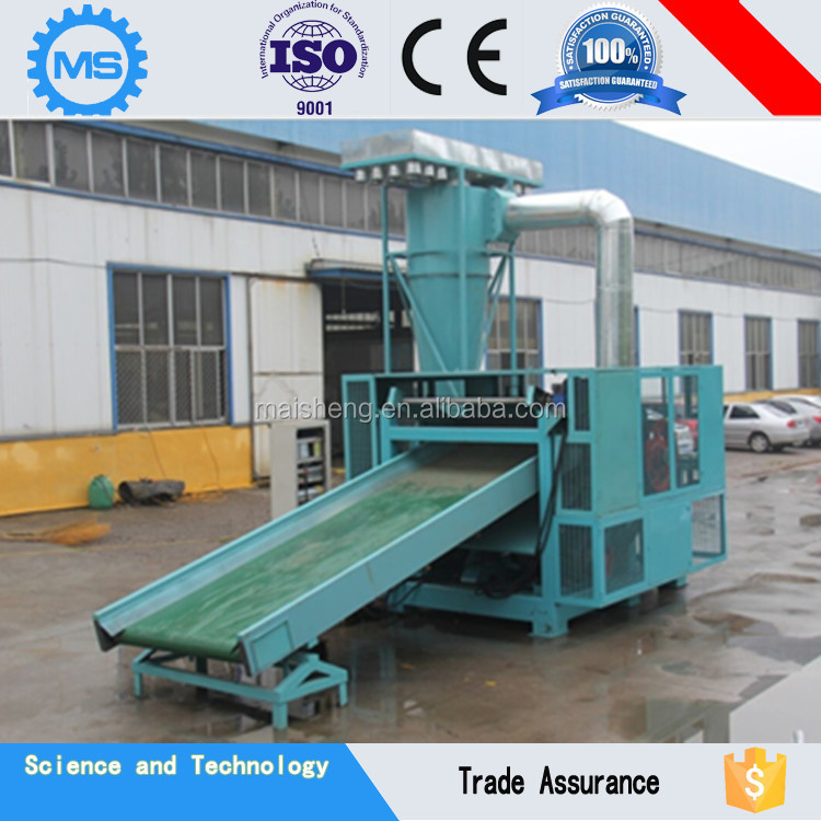 Waste recycling machine chemical fiber cutting machine for recycle