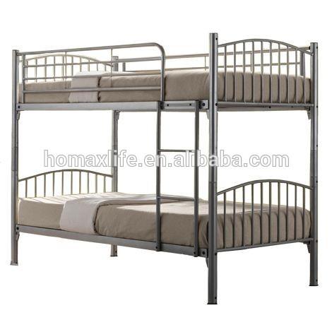 Hierro moderna acero cama litera de metal muebles de dormitorio BD ...