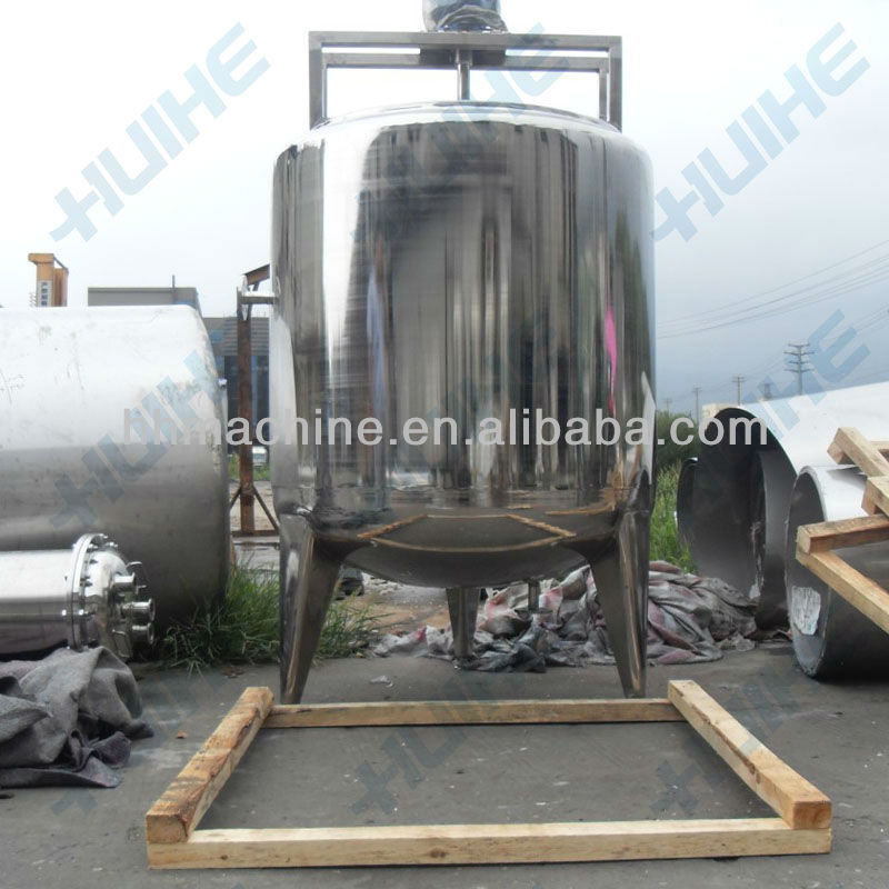High Quality Pectin tank/ Jelly Storage Tank with agitator