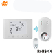 Electric heating wifi smart thermostat works with alexa wireless thermostat switch 240v socket receiver