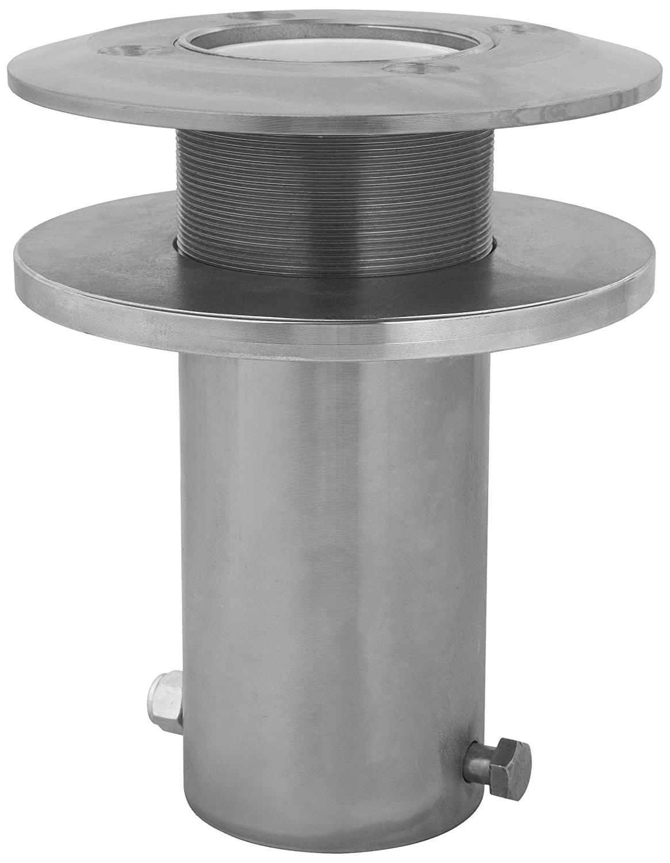 3M DBI-SALA Advanced 8510110 Davit Component Stainless Core Mount Sleeve Davit Base for Offset Davit Mast