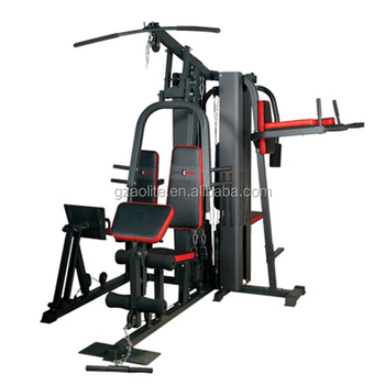 cheap 5 station multi gym / deluxe home gym  buy deluxe