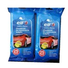 Car auto orange fragrance multipurpose 25pcs cleaning wet wipes