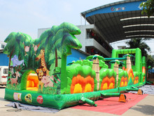 the beast inflatable obstacle course challenge for sale